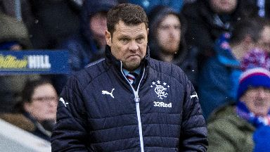 Disappointment: Murty says Rangers haven't been good enough.
