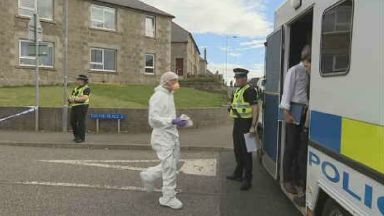 Gary Clampett: Range of weapons used. Fraserburgh Murder