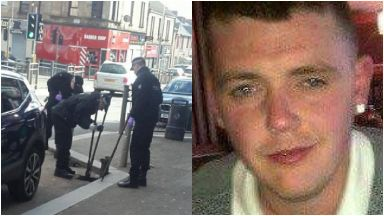 James Murray: He was found dead in house. Holyrood Street Hamilton Blantyre