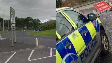 Crash: Man died in hospital. Ravenswood Roundabout Borders