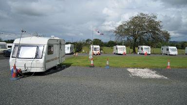 Mosshall Caravan park