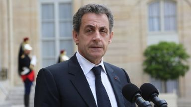 Nicolas Sarkozy lost the 2012 election to Francois Hollande.
