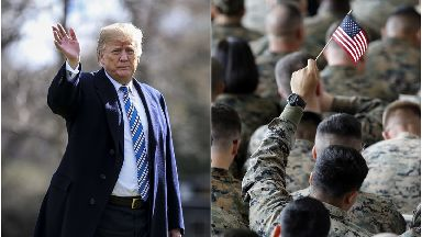 Donald Trump wants to ban transgender troops from the army.