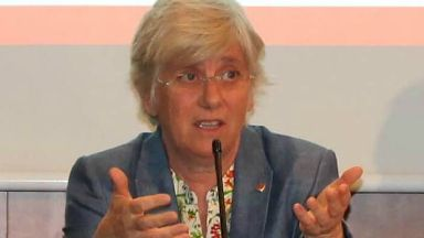Clara Ponsati, former Catalan education minister. Free to use pic.