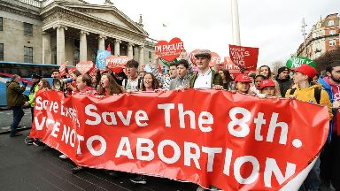 Campaigners are seeking to liberalise the regime to allow for unrestricted abortion up to 12 weeks into pregnancy