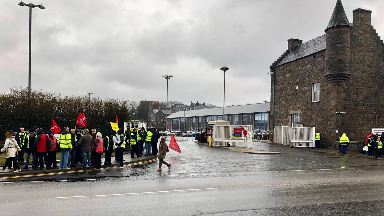 Strike: Union criticises First Aberdeen's 'intransigence'.