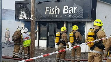 fire chip shop forres