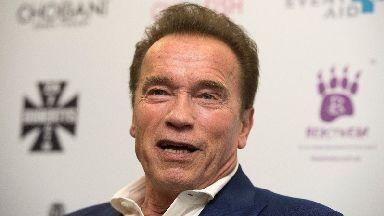 Arnold Schwarzenegger tweeted to fans following undergoing heart surgery.