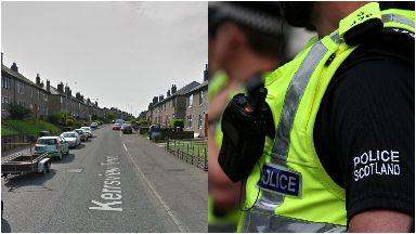 Kerrsview Terrace: Baby has been taken to hospital. Dundee