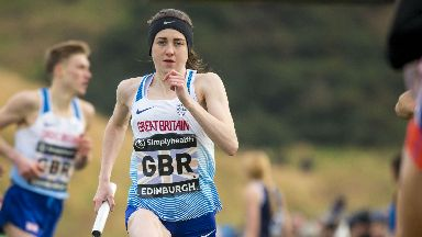 Laura Muir: Hoping for career highlight (file pic).