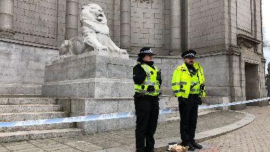 Aberdeen lion war memorial on 6/4/18