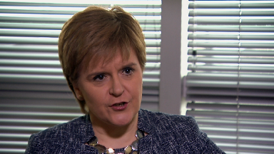 Nicola Sturgeon interview with STV News April 6 2018.