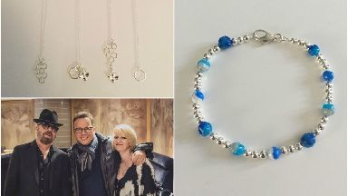 Arlene Barclay makes jewellery from rubbish found on beaches in Aberdeen
