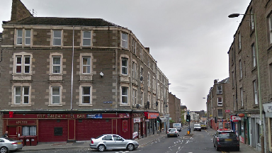 Blackness Road, adjacent to Rosefield Street in Dundee.