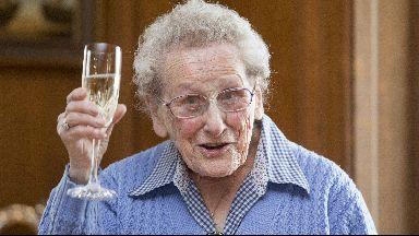 Doris Keir, volunteer celebrates 100th birthday