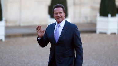 """The 70-year-old """"Terminator"""" actor was released from Cedars-Sinai Medical Center in Los Angeles on April 6."""
