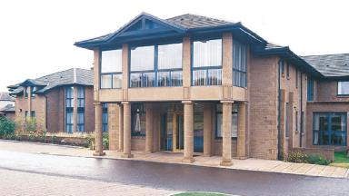 Riverside View nursing home, Dundee.