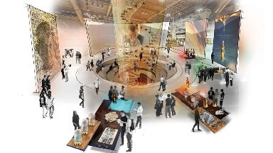 New Johnnie Walker visitor centre in Edinburgh artist's impression.