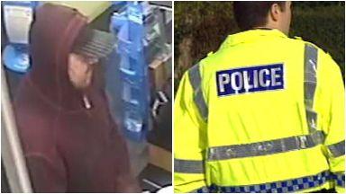 CCTV Scotmid Edinburgh robbery April 2018