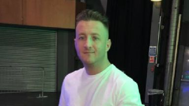 Kenny Reilly, fatally shot in Glasgow April 2018, police collect pic