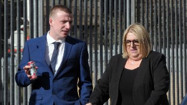 Bribe: Police received a tip off. Catherine Leahy