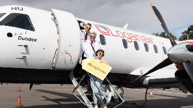 Airport: Sunny Dundee launched.