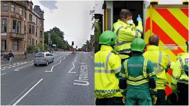 Death: She died in hospital on Thursday. University Avenue Glasgow