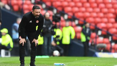 Derek McInnes April 2018
