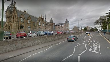 Pitkerro Road: Youngster injured after collision. Dundee