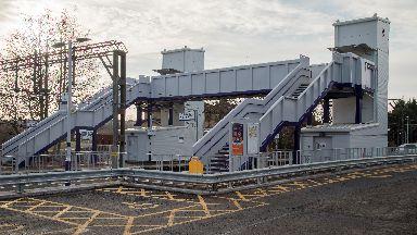 Westerton Train Station in Knightswood, Glasgow