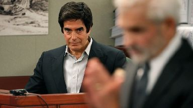 Famous illusionist David Copperfield breaks magician's code as he's forced to reveal trick