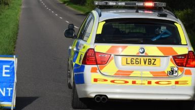 A83: Road has been closed by police. Lochgair Furnace Argyl and Bute
