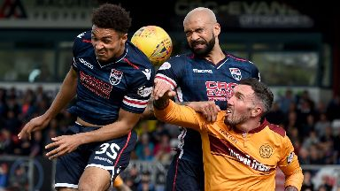 Ross County Motherwell 21/4/18
