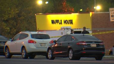 Three people have been killed at a Waffle House in Nashville.