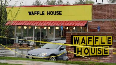 Suspect sought after fatal Waffle House shooting
