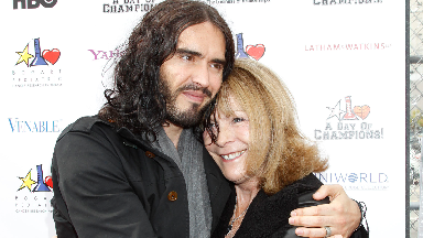 Russell Brand and his mother, Barbara, in 2011.