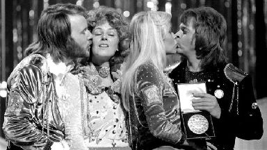 Reunion: Abba have recorded new music.