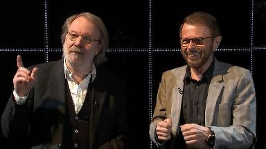Benny Andersson and Björn Ulvaeus relive their reunion.