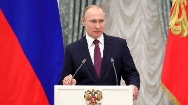 Vladimir Putin has been in power since 2000.
