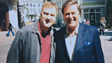 Kevin Sherwin met UK Eurovision commentator Terry Wogan on numerous occasions.