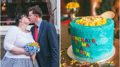 Emma and Mark held a macaroni themed wedding at Pastaval in Glasgow 2018