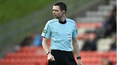 Official: Clancy will referee final.