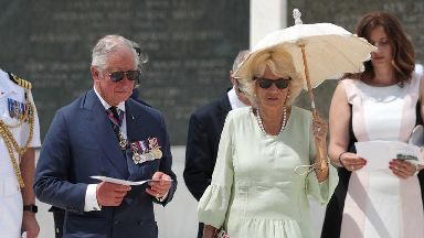 Charles and Camilla to visit Crete on final leg of Greek tour