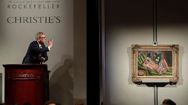 Rockefeller art collection fetches a record £611 million at auction
