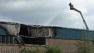 Southfield Industrial Estate fire