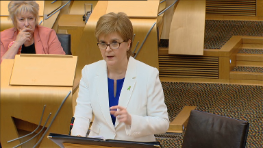 Nicola Sturgeon FMQs May 17 2018.