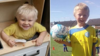 Corey and Casper Platt-May were killed after they were hit by a car in Coventry