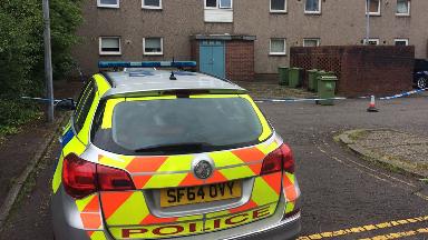 Colston Road flat, Springburn, Glasgow.