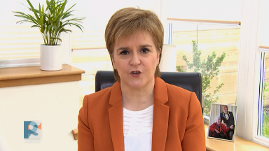 Nicola Sturgeon on Peston, May 20 2018.