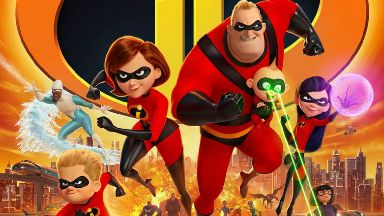 Incredibles 2 poster.